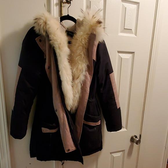 April 9th Jackets & Blazers - Down Coyote Fur Jacket